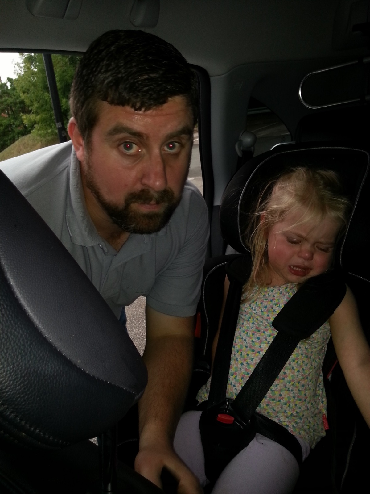 The Seatbelt Standoff