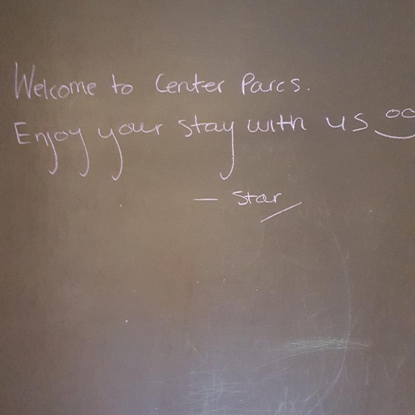 A nice welcome....