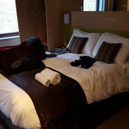 Beds were v comfy