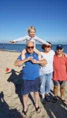 Grandpa carrying Georgie